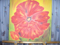 Sommer, Feuer, Rot, Farben