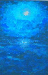 Malerei, Mondschein
