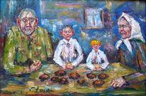 Malerei, Figural, Armut