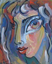 Malerei, Surreal, Portrait