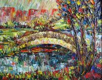 Malerei, Landschaft, Tag