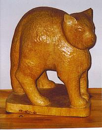 Holz, Kunsthandwerk, Kater