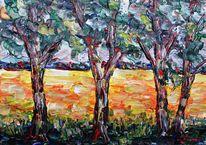 Malerei, Kornfeld