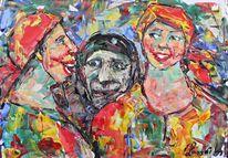 Malerei, Lachen