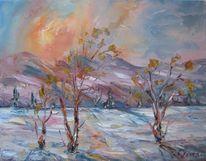 Malerei, Frost
