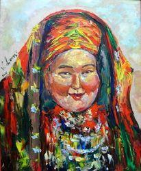 Figural, Malerei, Menschen, Frau
