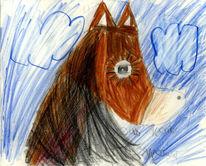 Kind, Traum, Pferde, Liebe