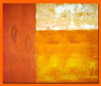 Malerei, Abstrakt, Fernweh