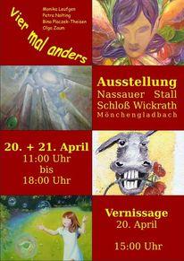 Ausstellung, Plakatkunst, Pinnwand,