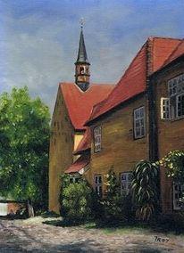Malerei, Stillleben, Kloster