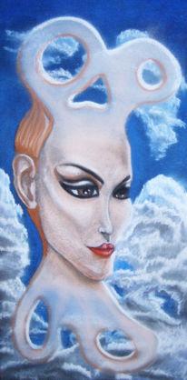 Pastellmalerei, Surreal, Malerei