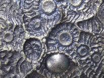 Silber, Blau, Zeichnungen, Abstrakt