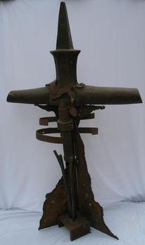 Skulptur, Plastik, Kreuz