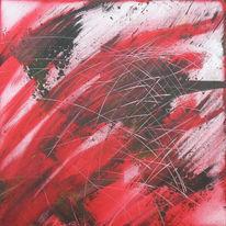 Liebe, Wut, Rot schwarz, Kratzer