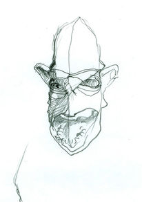 Portrait, Menschen, Bleistiftzeichnung, Zeichnungen