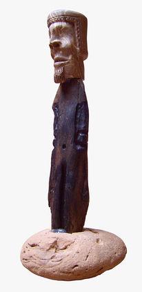 Stein, Plastik, Keramik, Holz