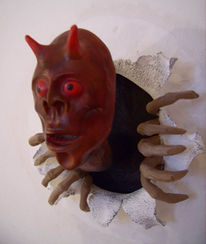 Plastik, Keramik, Airbrush, Surreal
