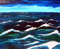 Meer, Wasser, Brandung, Ozean