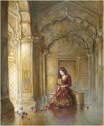 Figural, Indien, Malerei, Orientalismus
