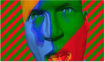 Farben, Kopf, Digitale kunst, Figural