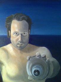 Ölmalerei, Curd stimmeder, Malerei, Suche
