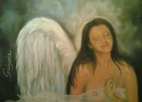 Engel, Akt engel frau, Akt, Frau