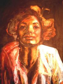 Kreide, Figural, Pastellmalerei, Ölmalerei