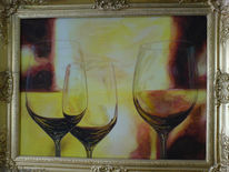 Stimmung, Glas, Wein, Lascaux