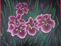 Leben, Blumen, Natur, Malerei