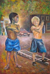 Kapstadt, Menschen, Malerei, Realismus