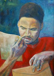 Malerei, Kapstadt, Ölmalerei, Menschen