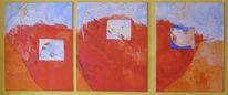 Malerei, Modern, Abstrakt, Traum