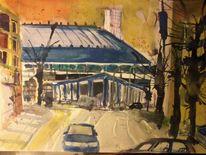 Sehen, Bahnhof, Köln, Goldgasse