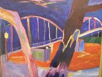 Hbf, Brücke, Malerei, Dom