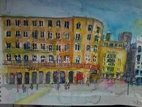 Köln, Dom hotel, Stadt, Malerei