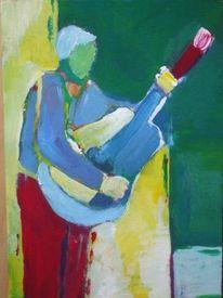 Malerei, Gitarrenspieler