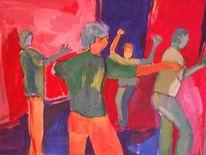 Malerei, Tanz,