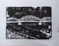 Hochdruck, Hohenzollernbrücke, Köln, Rhein