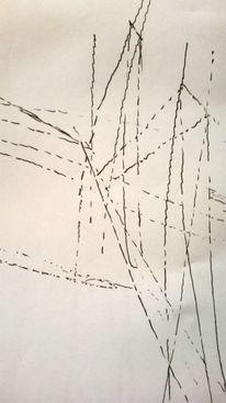 Bewegung, Richtung, Linie, Zeichnungen