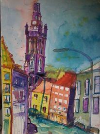 St christophorus, Roermond, Kathedrale, Malerei