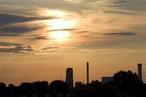 Köln, Sonnenuntergang, Fotografie, Wolken