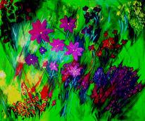 Blumen, Bunt, Sommer, Farben