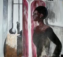 Unsicherheit, Hoffnung, Malerei, Misstrauen