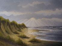 Stimmung, Nordsee, Strand, Meer