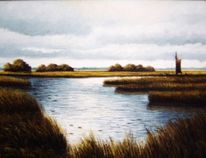 Moor, Ostfriesland, Friesland, Weite