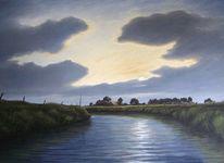 Friesland, Weite, Landschaft, Malerei