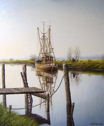 Nordsee, Ostfriesland, Friesland, Weite