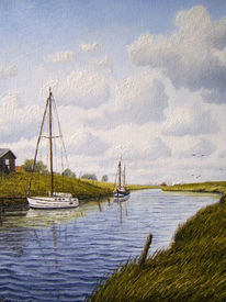 Nordsee, Ostfriesland, Watt, Friesland