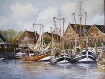 Friesland, Zeichnung, Weite, Ostfriesland