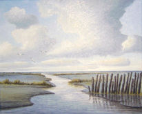 Watt, Nordsee, Friesland, Ostfriesland